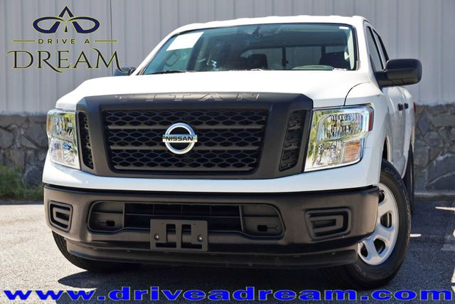 2017 Used Nissan Titan 4x2 Crew Cab S with Convenience & Utility Packages  at Drive a Dream Serving Marietta, GA, IID 19303416