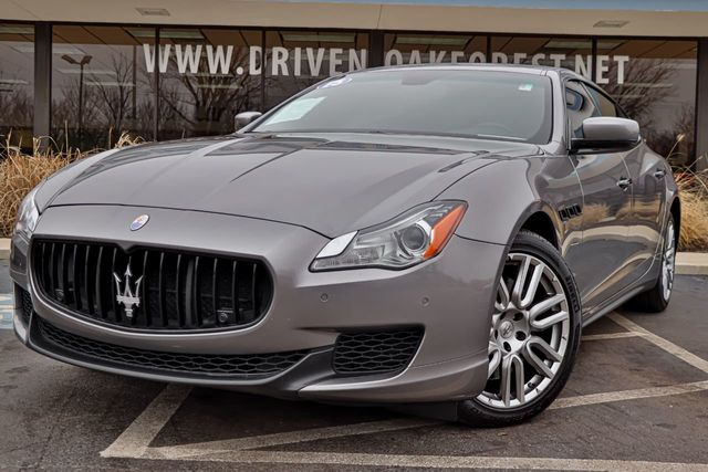 2015 Maserati Quattroporte >> 2015 Used Maserati Quattroporte 4dr Sedan S Q4 At Driven Auto Of Oak Forest Il Iid 19034489