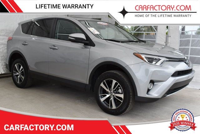 2018 Used Toyota Rav4 Xle Suv 4 Door Wagon Sport Utility At Car Factory Outlet Serving Miami Dade Broward Palm Beach Collier And Monroe County Fl