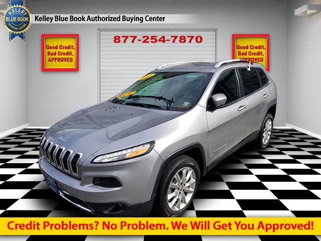 2016 Used Jeep Cherokee 4WD 4dr Limited at Comfort Used Cars Serving  Brooklyn, NY, IID 18179770