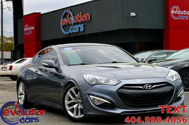 Hyundai Genesis Coupe For Sale >> 2013 Used Hyundai Genesis Coupe 3 8 Grand Touring At Evolution Cars Serving Conyers Ga Iid 18690576