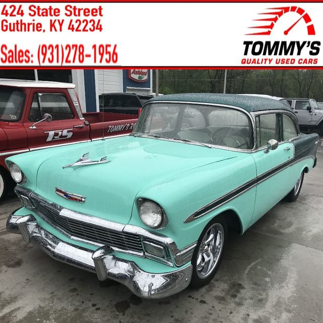 1956 Chevrolet NEW CAR Dealer Accessory Price List