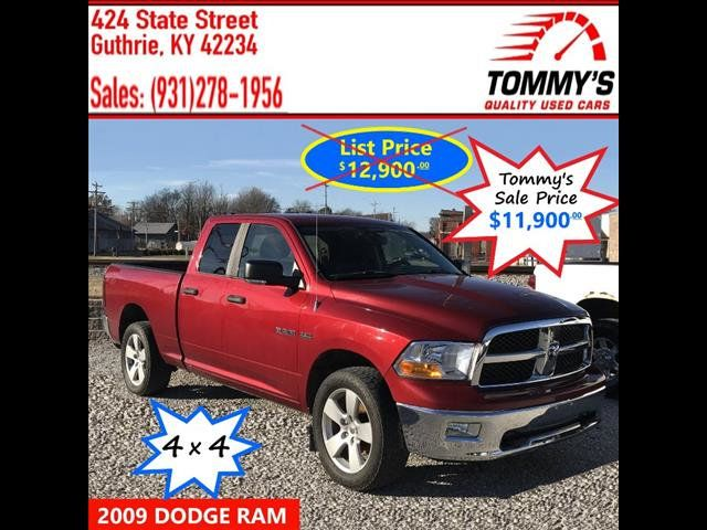 Used Dodge Ram >> 2009 Used Dodge Ram 1500 At Tommy S Quality Used Cars Serving Guthrie Ky Iid 19298493