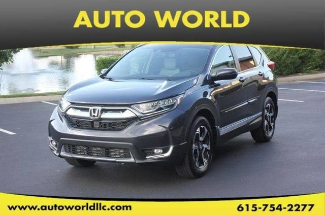 2017 Used Honda Cr V Touring Awd At Auto World Serving Mount Juliet Tn Iid 17931575
