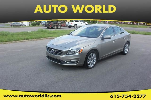 Used Volvo S60 >> 2016 Used Volvo S60 4dr Sedan T5 Drive E Premier Fwd At Auto World Serving Mount Juliet Tn Iid 19103882