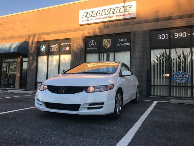 2010 Used Honda Civic Coupe 2dr Automatic LX at Eurowerks