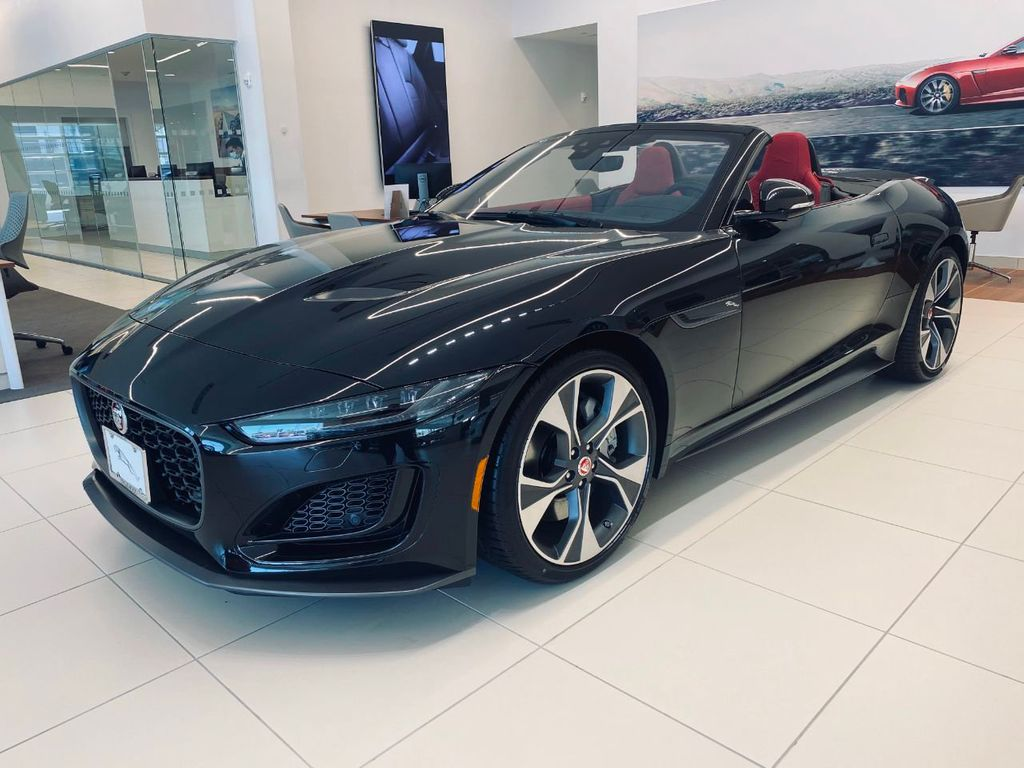 New 2021 Jaguar F-Type F TYPE CNV 2DR CONV AT FIRST ED
