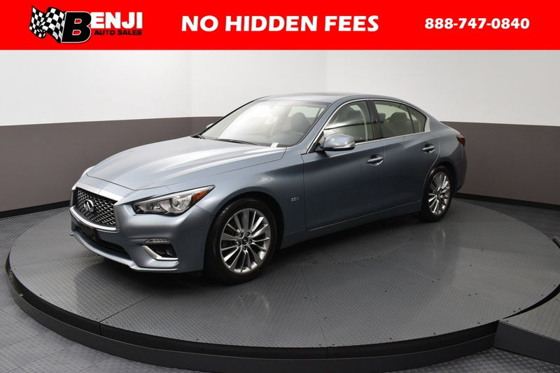 2018 Used INFINITI Q50 3 0T LUXE at Benji Auto Sales Serving