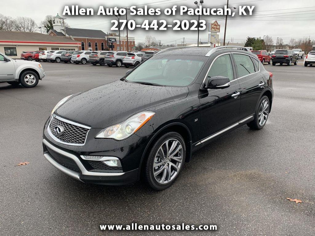 Allen Auto Sales >> 2016 Used Infiniti Qx50 Awd 4dr At Allen Auto Sales Serving