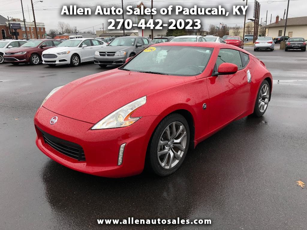 Allen Auto Sales >> 2014 Used Nissan 370z 2dr Coupe Automatic Touring At Allen