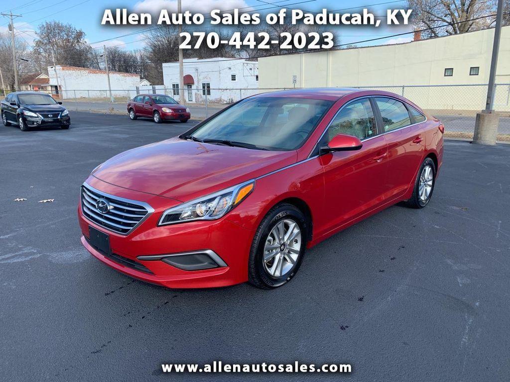 Allen Auto Sales >> 2017 Used Hyundai Sonata 2 4l At Allen Auto Sales Serving