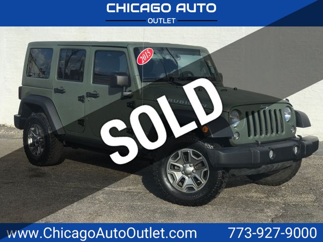 2015 Jeep Rubicon >> 2015 Used Jeep Wrangler Unlimited 4wd 4dr Rubicon At Chicago Auto Outlet Il Iid 18909646
