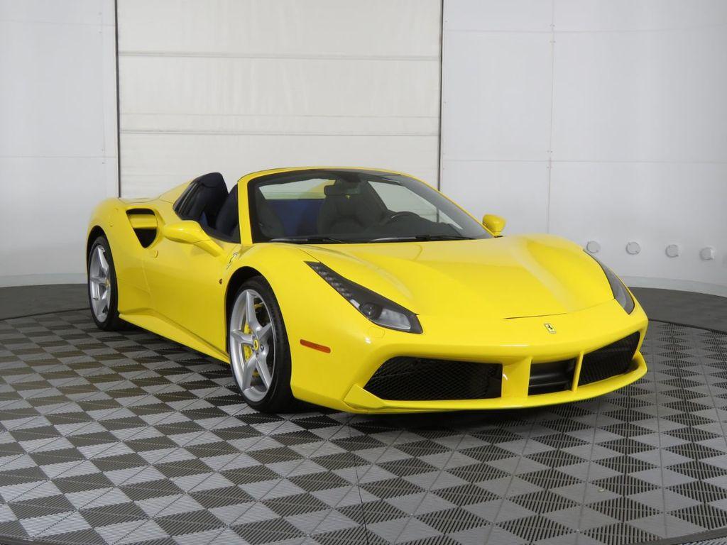 Pre-Owned 2018 Ferrari 488 Spider Convertible