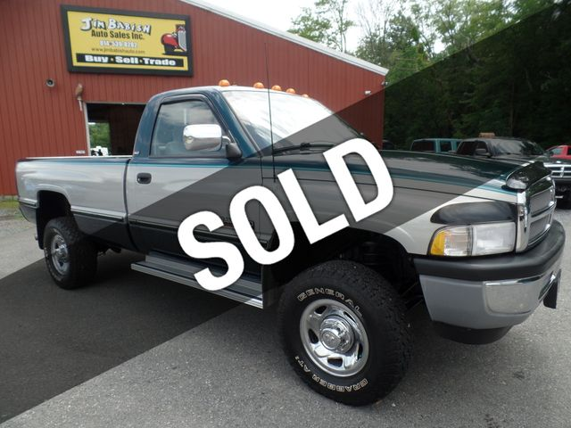 Dodge Ram Diesel For Sale >> 1995 Used Dodge Ram 2500 Slt Regular Cab Long Bed 4x4 At Jim Babish Auto Sales Inc Serving Johnstown Pa Iid 18889359