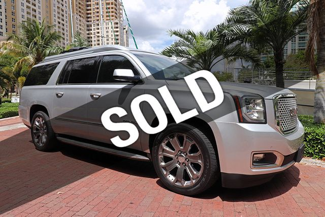 2015 Used GMC Yukon XL Executive 4X4 Limo at Choice Auto Brokers Serving  Fort Lauderdale, FL, IID 18707075