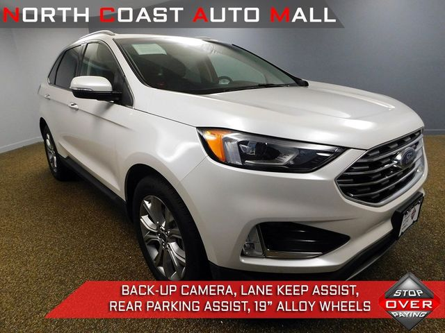 Ford Edge Used >> 2019 Used Ford Edge Titanium Awd At North Coast Auto Mall Serving Bedford Oh Iid 19245220