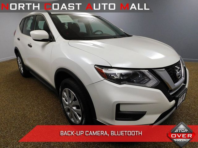 2017 Used Nissan Rogue AWD S at North Coast Auto Mall Serving Bedford, OH,  IID 19302632