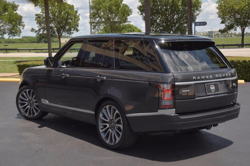 2014 Land Rover Range Rover 4WD 4dr SC Autobiography