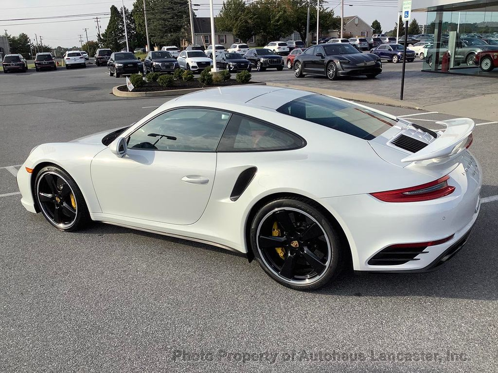 Pre-Owned 2018 Porsche 911 Beautiful 991 Turbo S- with Balance of Factory Warranty and CPO!
