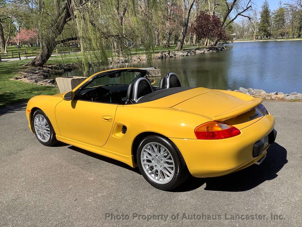 Pre-Owned 1999 Porsche Boxster Time Capsule Example- 56 Miles!! Original MSRP