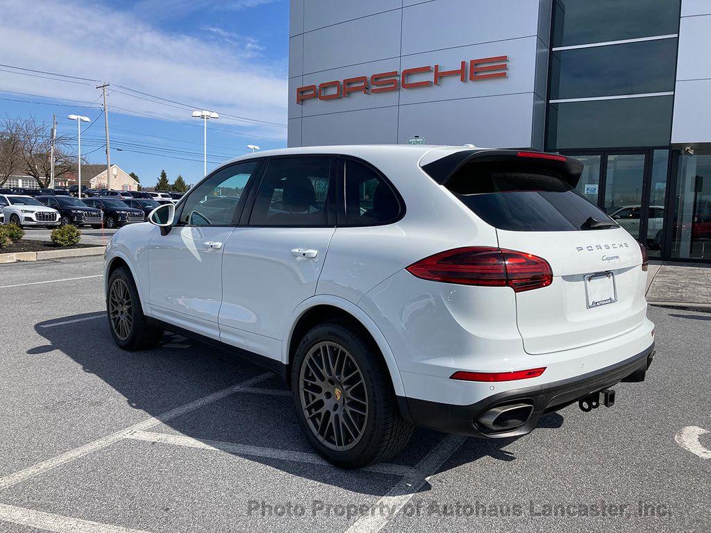 Pre-Owned 2017 Porsche Cayenne Platinum Edition AWD