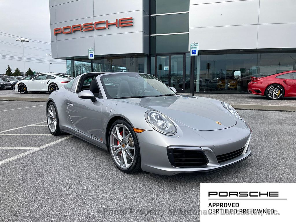 Certified Pre-Owned 2017 Porsche 911 Beautiful 1 Owner!! Certified Pre-Owned Targa 4S!!