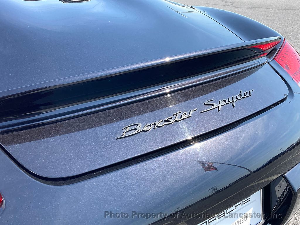 Certified Pre-Owned 2012 Porsche Boxster Rare Boxster Spyder