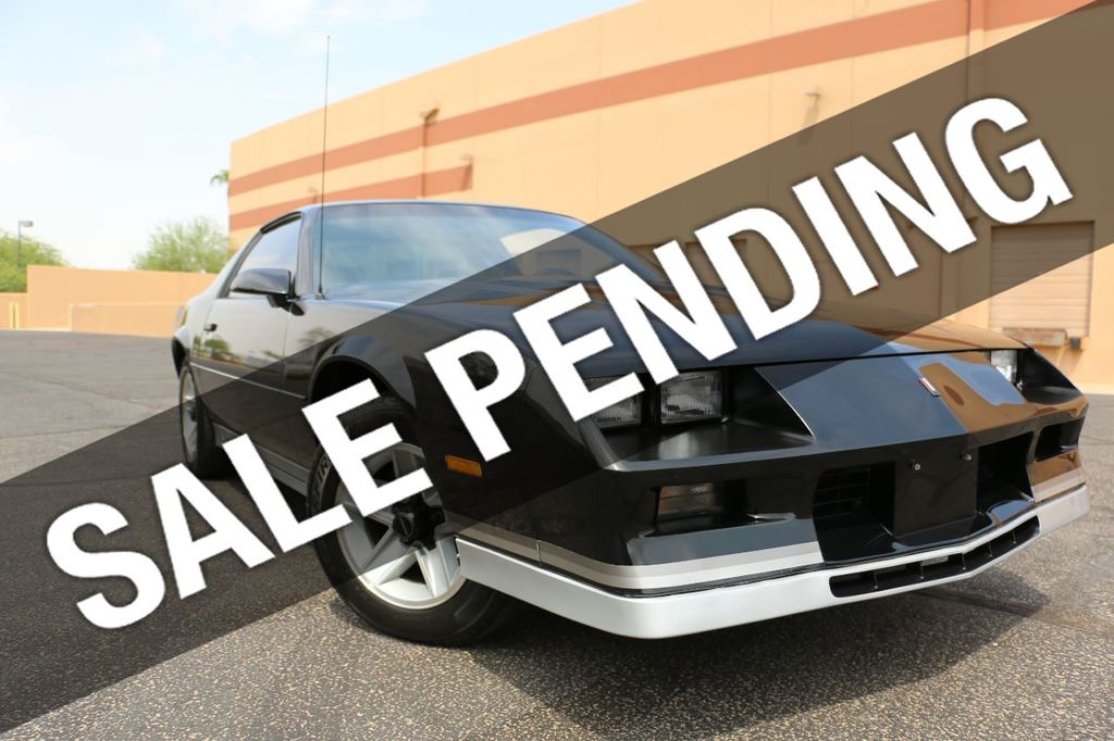 1984 Chevrolet Camaro Base Trim - 17741554