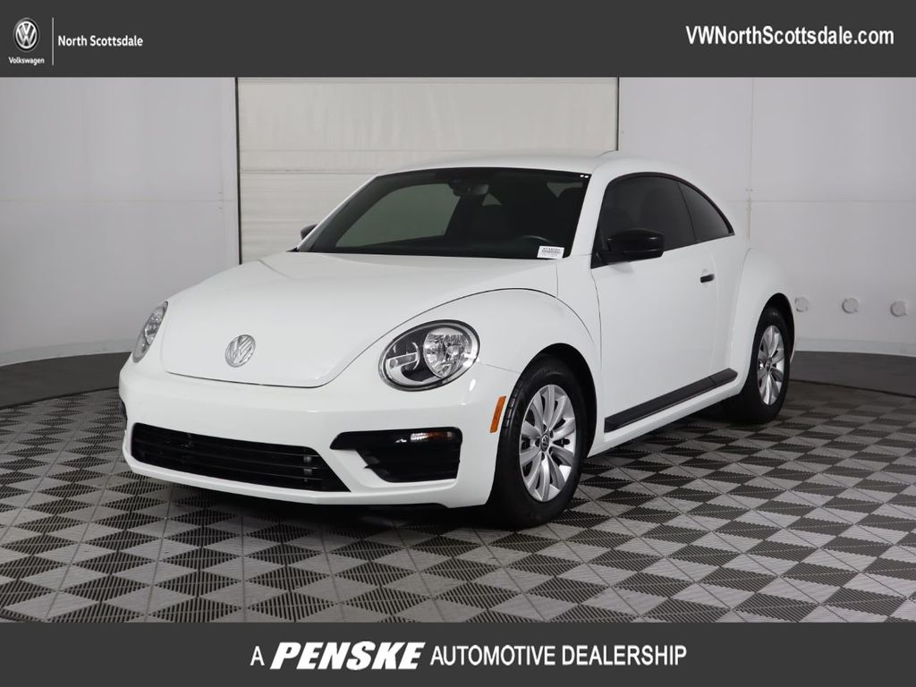 Certified Pre-Owned 2017 Volkswagen Beetle 1.8T S Automatic
