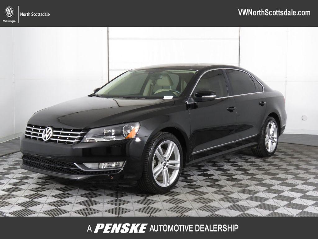 Certified Pre-Owned 2013 Volkswagen Passat 4dr Sedan 2.0L DSG TDI SEL Premium