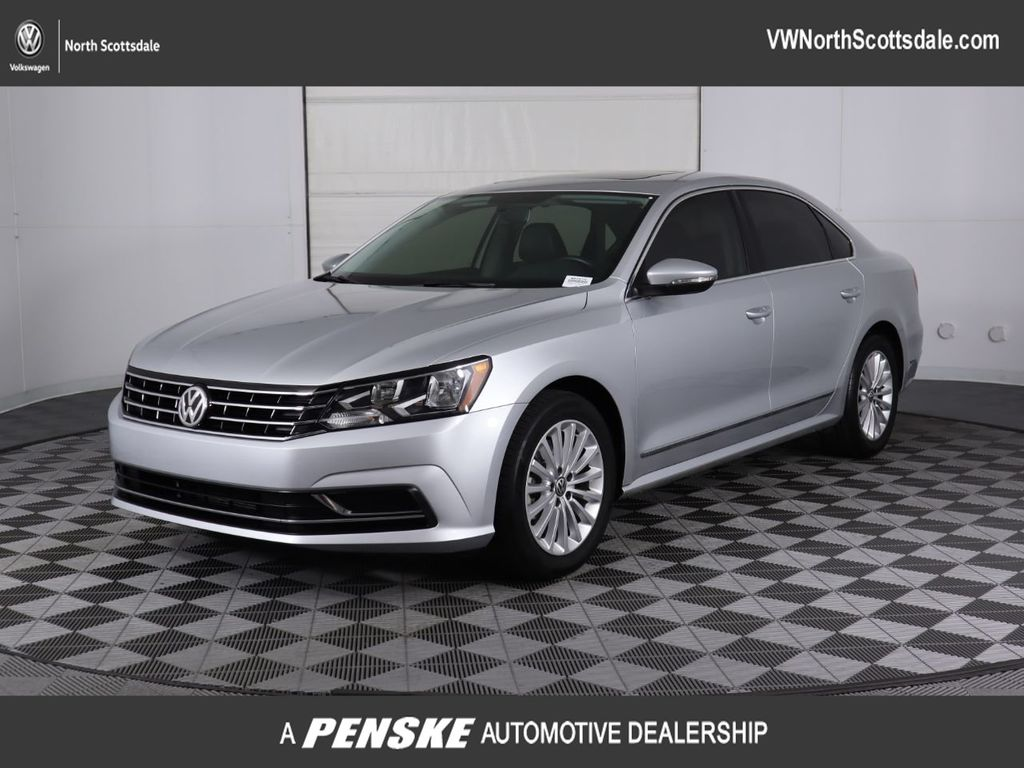 Certified Pre-Owned 2017 Volkswagen Passat 1.8T SE Automatic