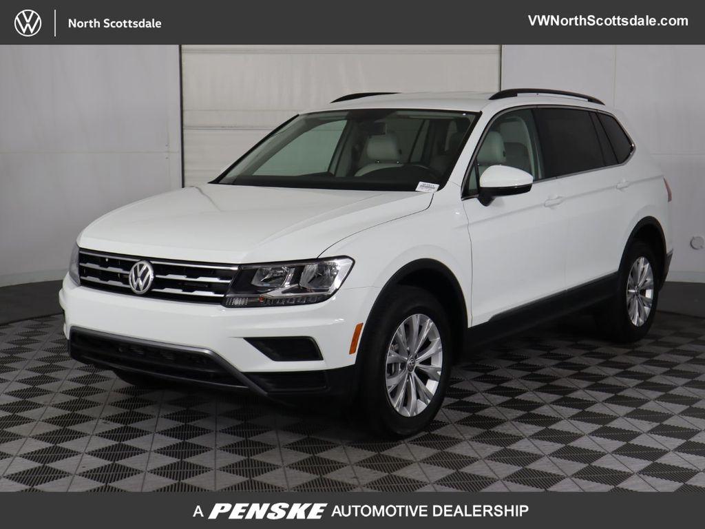 Certified Pre-Owned 2018 Volkswagen Tiguan 2.0T SE FWD