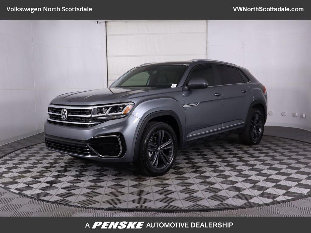New 2020 Volkswagen Atlas Cross Sport 3 6l V6 Se W Technology R Line Fwd Suv In Phoenix W16205 Penske Automall