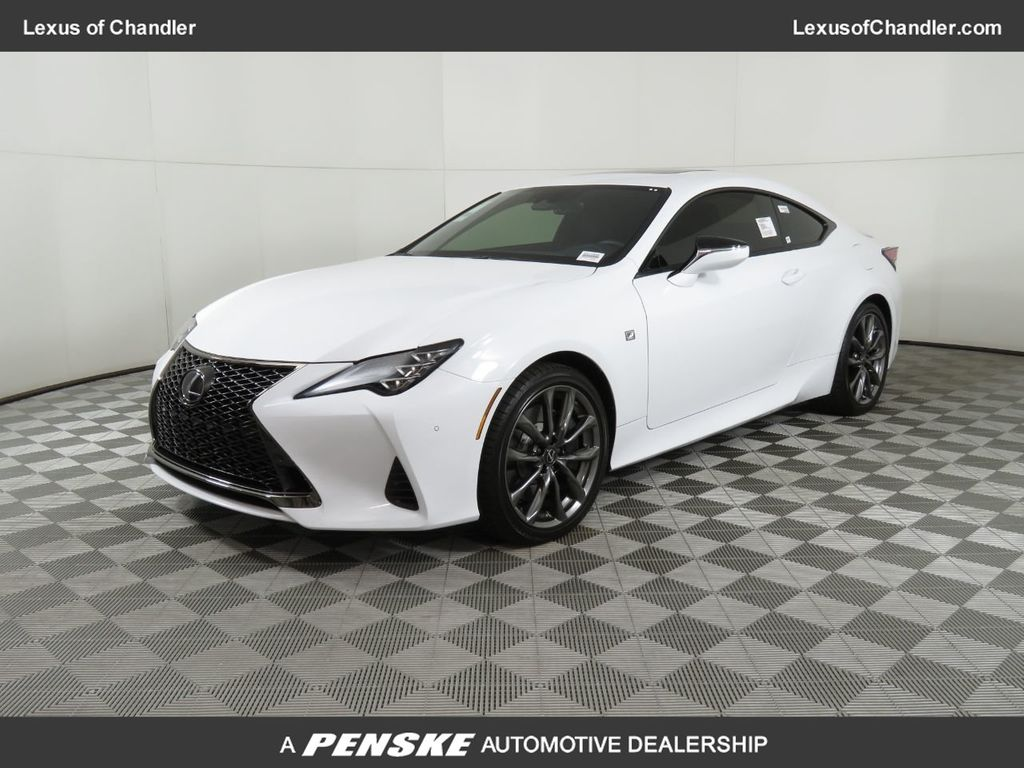 New 2019 Lexus Rc Rc 350 F Sport Rwd Rear Wheel Drive Coupe