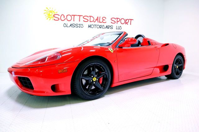 2002 Ferrari 360 F1 SPIDER For Sale