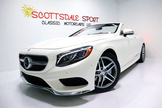 2017 Mercedes-Benz S550 AMG CABRIOLET For Sale