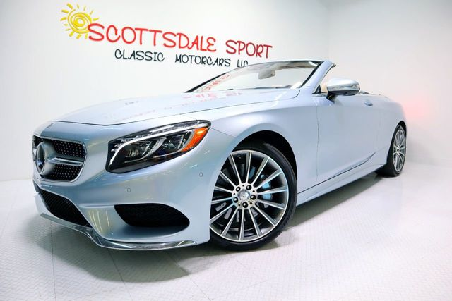2017 Mercedes-Benz S550 AMG CABRIOLET For Sale