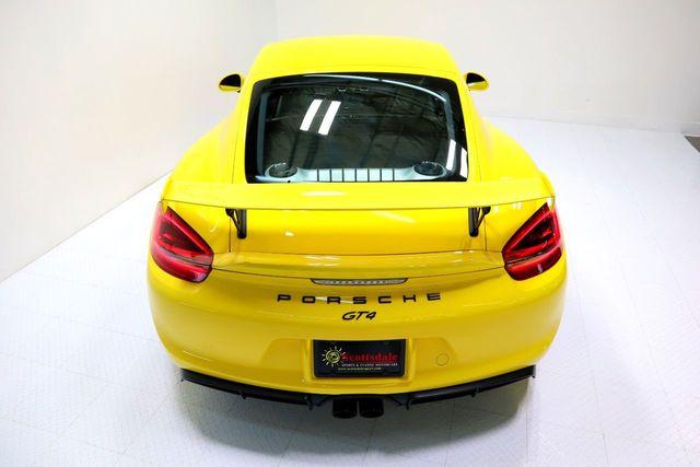 2016 Porsche CAYMAN GT4 For Sale