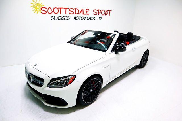 2017 Mercedes-Benz C63 S CABRIOLET For Sale