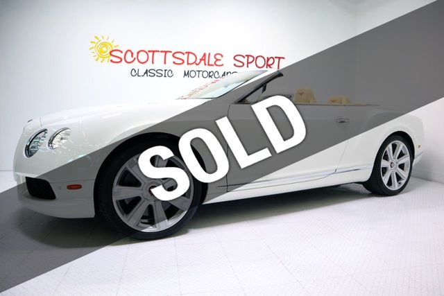 2014 Bentley GTC MULLINER PKG For Sale