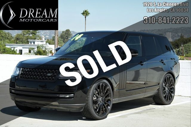 2014 Used Land Rover Range Rover 4WD 4dr Supercharged Autobiography at  Dream Motor Cars Serving Los Angeles & Santa Monica, CA, IID 18416397