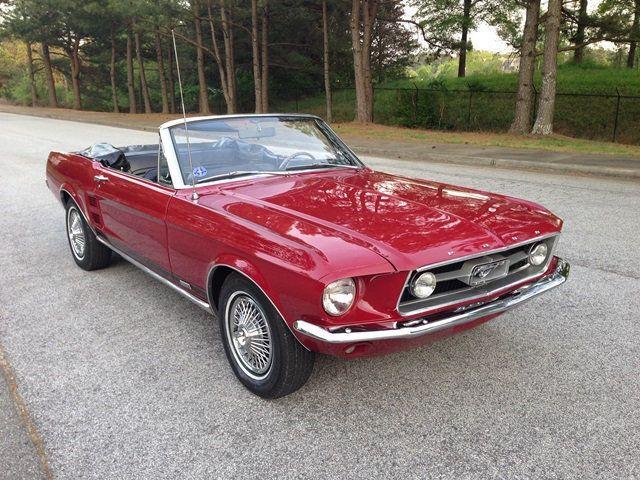 1967 Red Mustang Gt