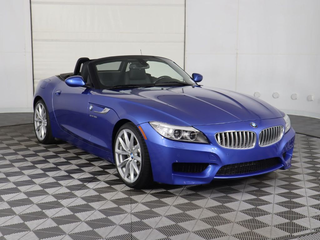 Certified Pre-Owned 2016 BMW Z4 Roadster sDrive35i