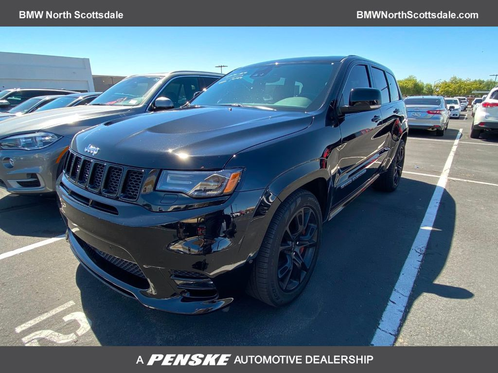 Pre-Owned 2017 Jeep Grand Cherokee SRT 4x4