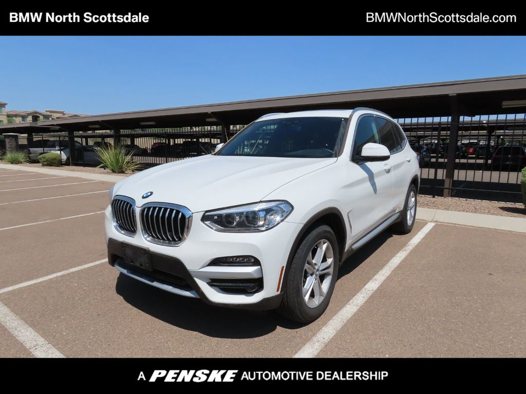 2020 BMW X3 COURTESY VEHICLE