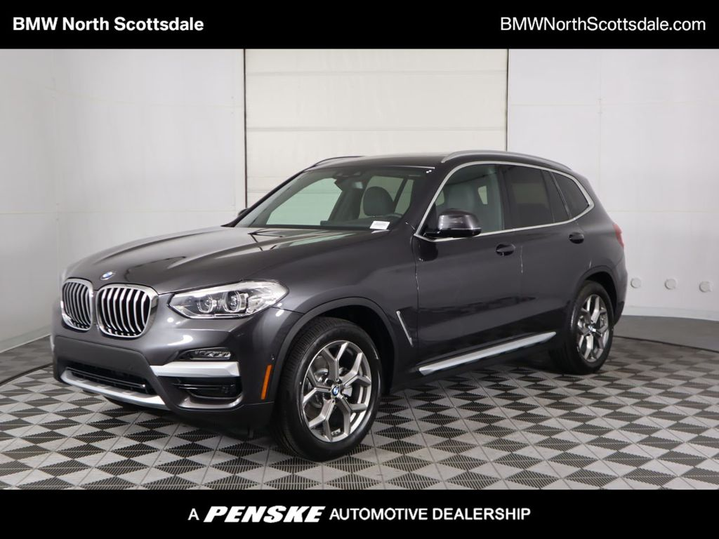 2021 BMW X3 COURTESY VEHICLE