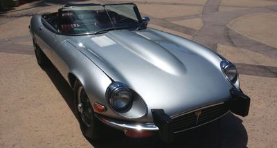 1974 Jaguar XKE ROADSTER  - Click to see full-size photo viewer