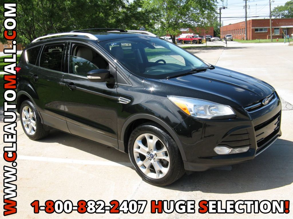 2014 Ford Escape Tires >> 2014 Used Ford Escape 4wd Titanium Leather Sync Touch Screen 4wd
