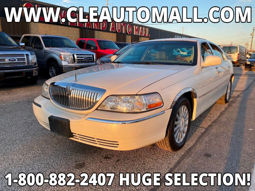 2003 Used Lincoln Town Car Runs Great Low Price