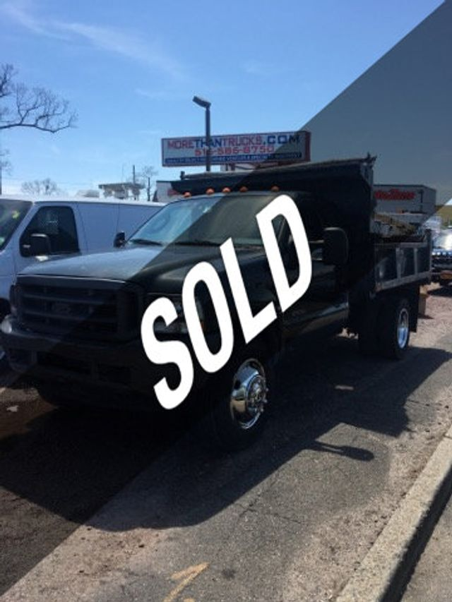 Ford F550 For Sale >> 2004 Used Ford Super Duty F 550 9 Foot Mason Dump With Pto F550 9